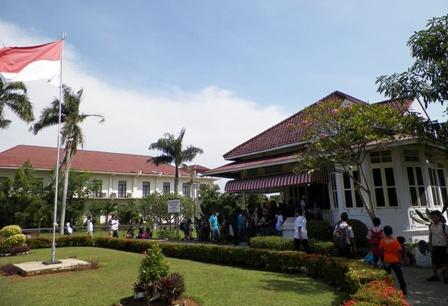 Berkunjung Rumah Pengasingan Bung Karno Bengkulu Indonesia Musium Ibu Fatmawati