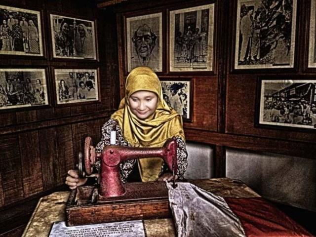 Kisah Bendera Pusaka Ibu Fatmawati Soekarno Berbagi Kisahku Mesin Jahit