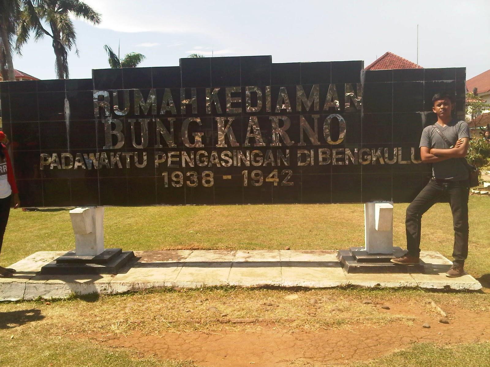 Peninggalan Saejarah Bengkulu Sejarah Rumah Soekarno Terletak Jalan Jeruk Berganti