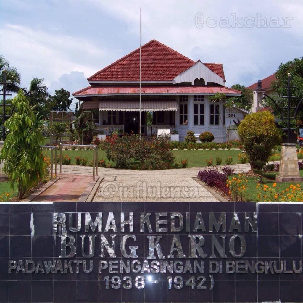 Rumah Bung Karno Bengkulu Musium Ibu Fatmawati Soekarno Kota