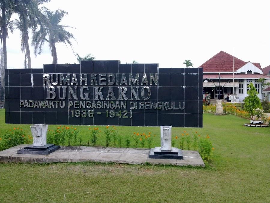 Rumah Pengasingan Bung Karno Bengkulu Indonesia Musium Ibu Fatmawati Soekarno