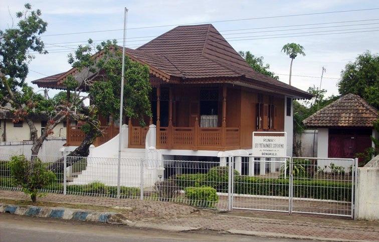 Rumah Pengasingan Bung Karno Bengkulu Indonesia Sebelum Musium Ibu Fatmawati