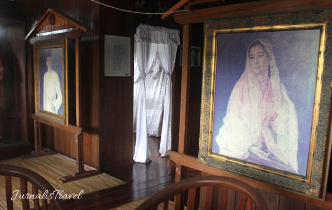 Sepenggal Kisah Cinta Soekarno Bengkulu Jurnalis Travel Lukisan Fatmawati Rumah