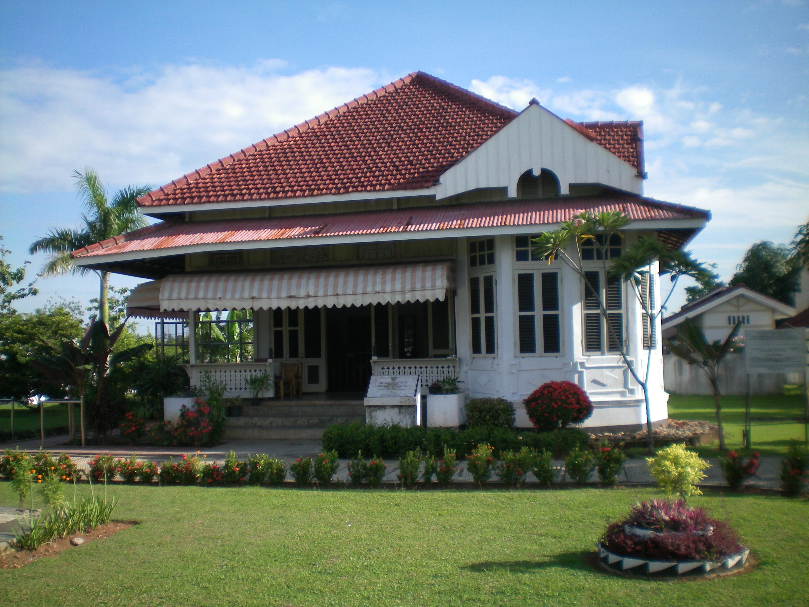 Agro Bungsu Peninggalan Peningalan Rumah Bungkarno Pengasingan Bung Karno Kota