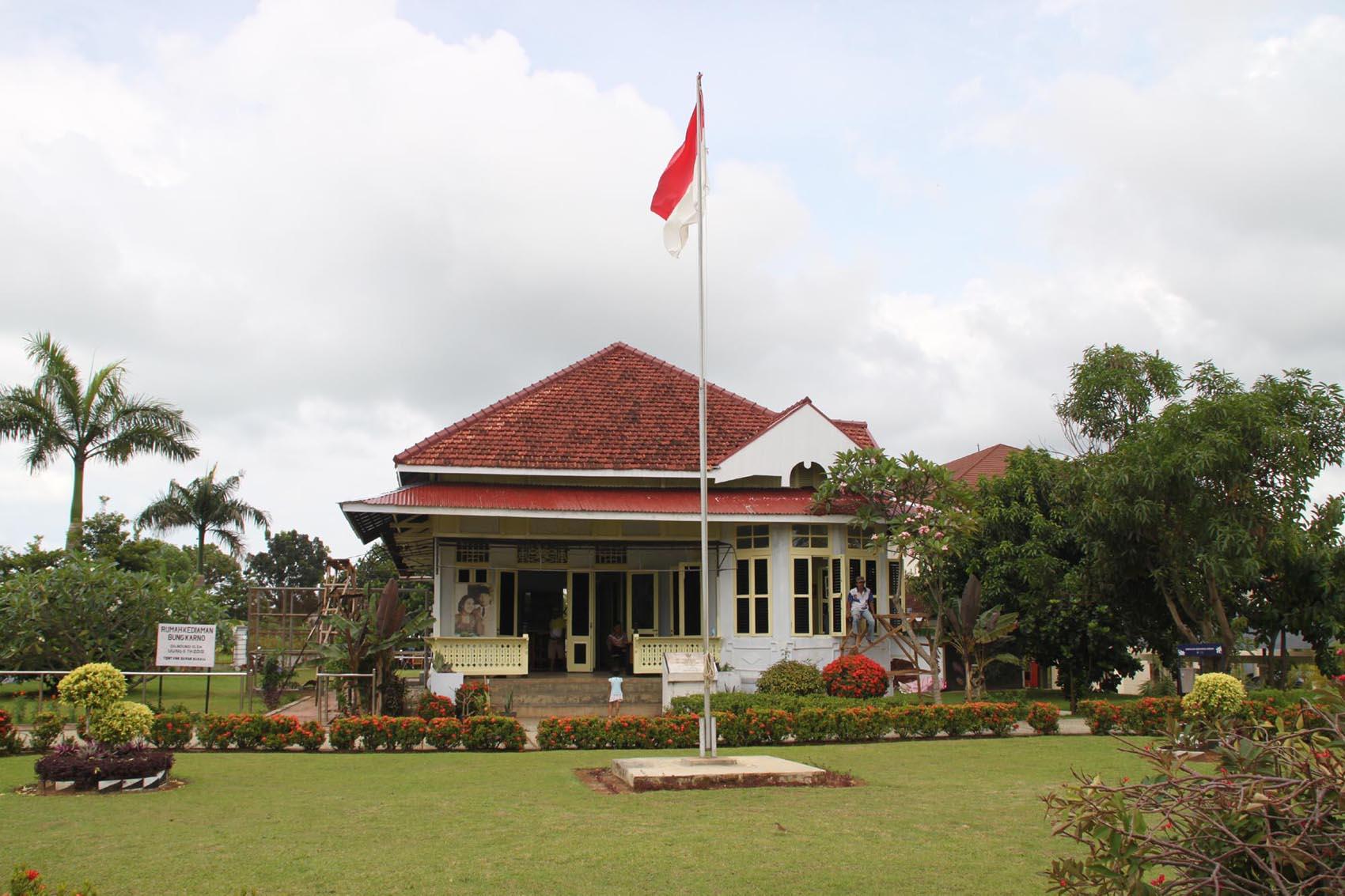 Bengkulu Kota Tuo Rancak Suprizal Tanjung Surau Rumah Pengasingan Soekarno