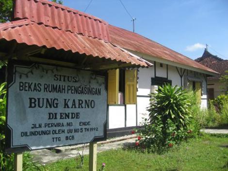 Bung Karno Agama Dunia Roso Daras Rumah Pengasingan Sukarno Kota