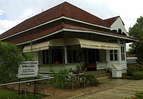 Indonesia Kaya Tempat Wisata Bengkulu Rumah Pengasingan Bung Karno Kota