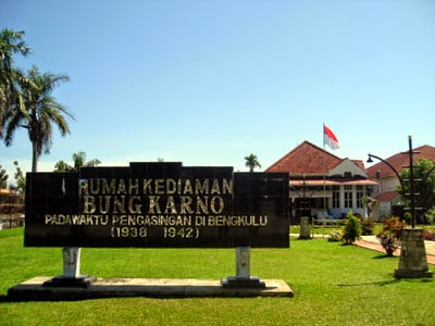 Jasmerah Rumah Pengasingan Bung Karno Weekend Escape Kota Bengkulu
