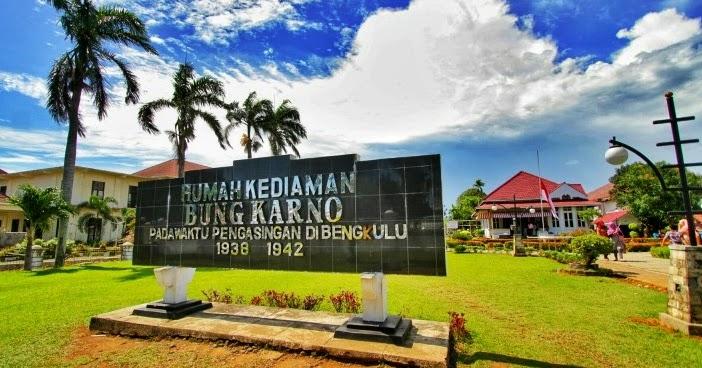 Menilik Sejarah Rumah Pengasingan Bung Karno Sunflowords Kota Bengkulu