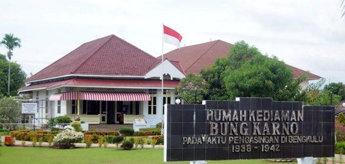 Rental Mobil Bengkulu Rumah Pengasingan Bung Karno Kota