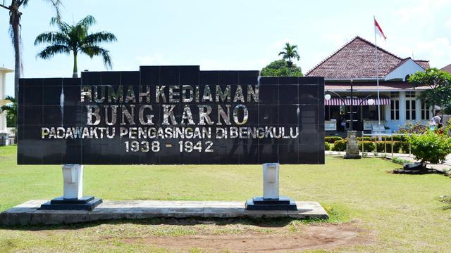 Rumah Bung Karno Bengkulu Paseban Jati Perbaikan Benda Cagar Budaya