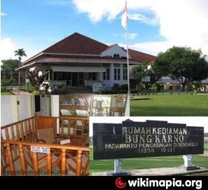 Rumah Pengasingan Bung Karno Bengkulu Kota