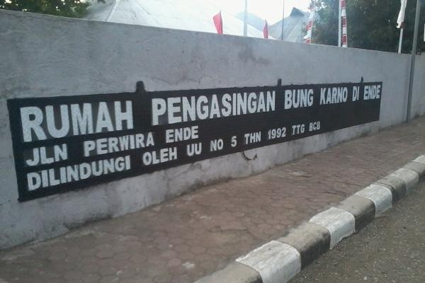 Rumah Pengasingan Bung Karno Ende Menengok Kota Bengkulu
