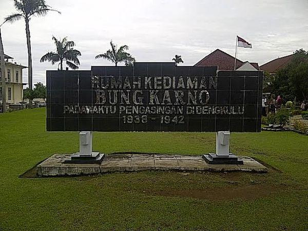 Rumah Pengasingan Soekarno Bengkulu Menengok Bung Karno Kota