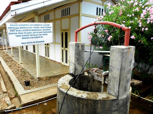 Sumur Bertuah Rumah Bung Karno Surau Inyiak Pengasingan Kota Bengkulu