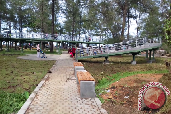 Taman Bermain Pantai Panjang Bengkulu Antara News Berkas Kota