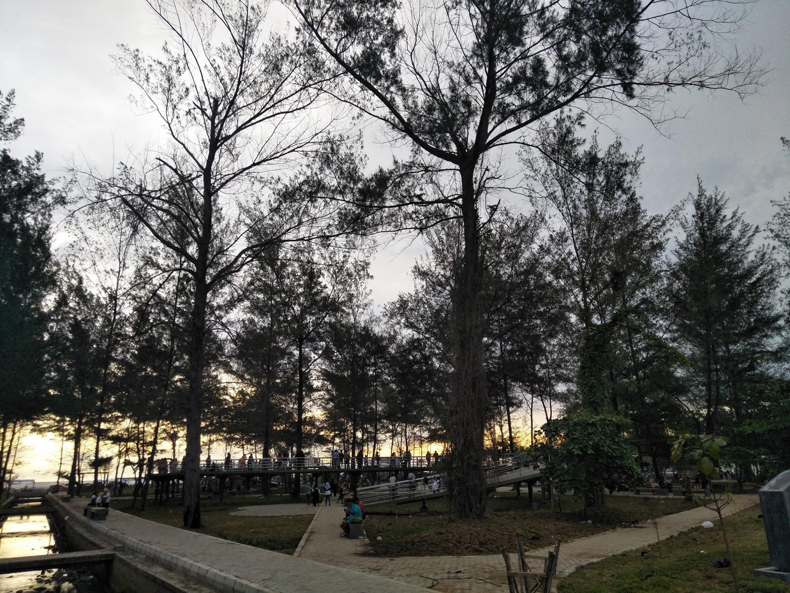 Taman Hijau Berkas Provinsi Bengkulu Pantai Kota