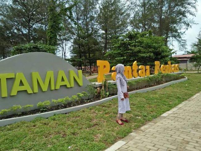 Taman Pantai Berkas Tempat Wisata Cadas Pedoman Bengkulu Provinsi Kota