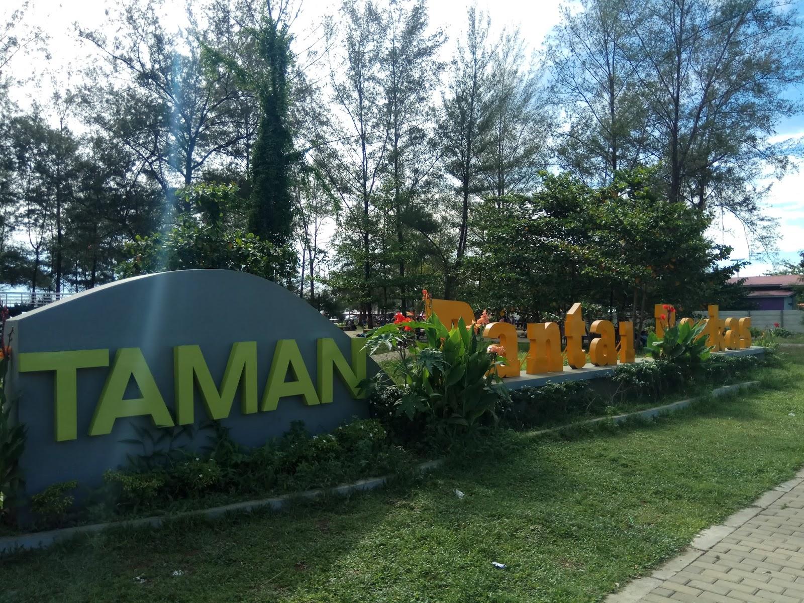 Wisata Bengkulu Taman Pantai Berkas Kota