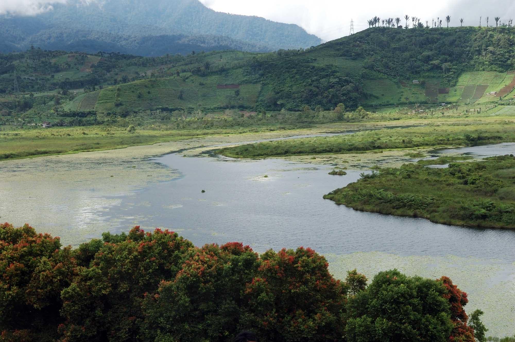 15 Tempat Wisata Bengkulu Menarik Dikunjungi Keposiasi Danau Harun Bastari