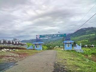 Berimbang Surga Terpendam Bengkulu Berada Sungai Manjunto Dikelilingi Oleh Panorama