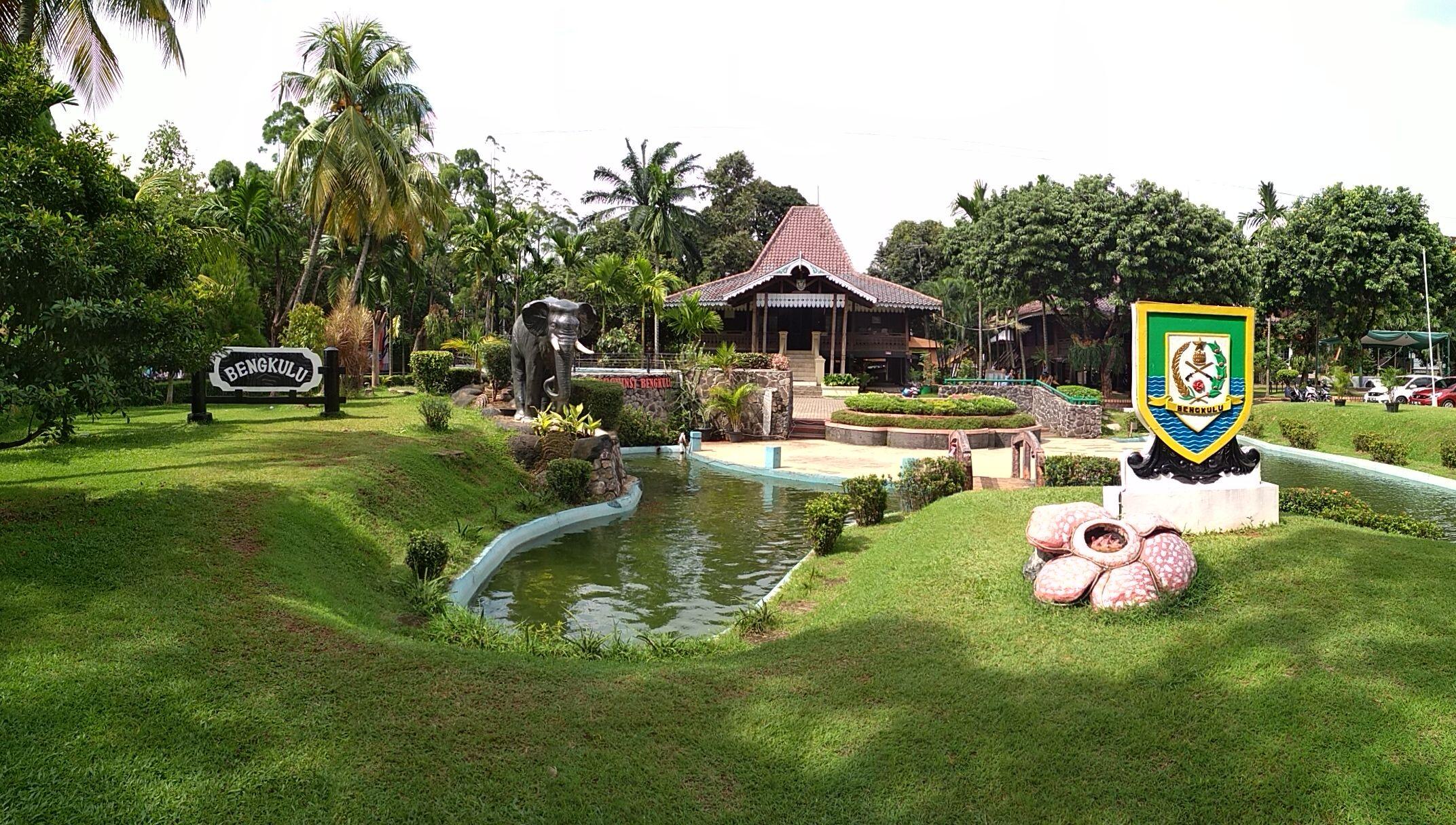 Melihat Tempat Wisata Tmii Indonesia Anjungan Provinsi Bengkulu Taman Keluarga