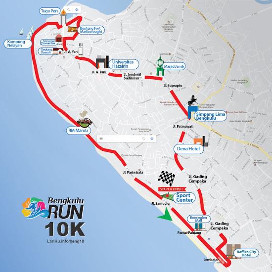 Bengkulu Run 2018 Lariku Info Tugu Pers Kota