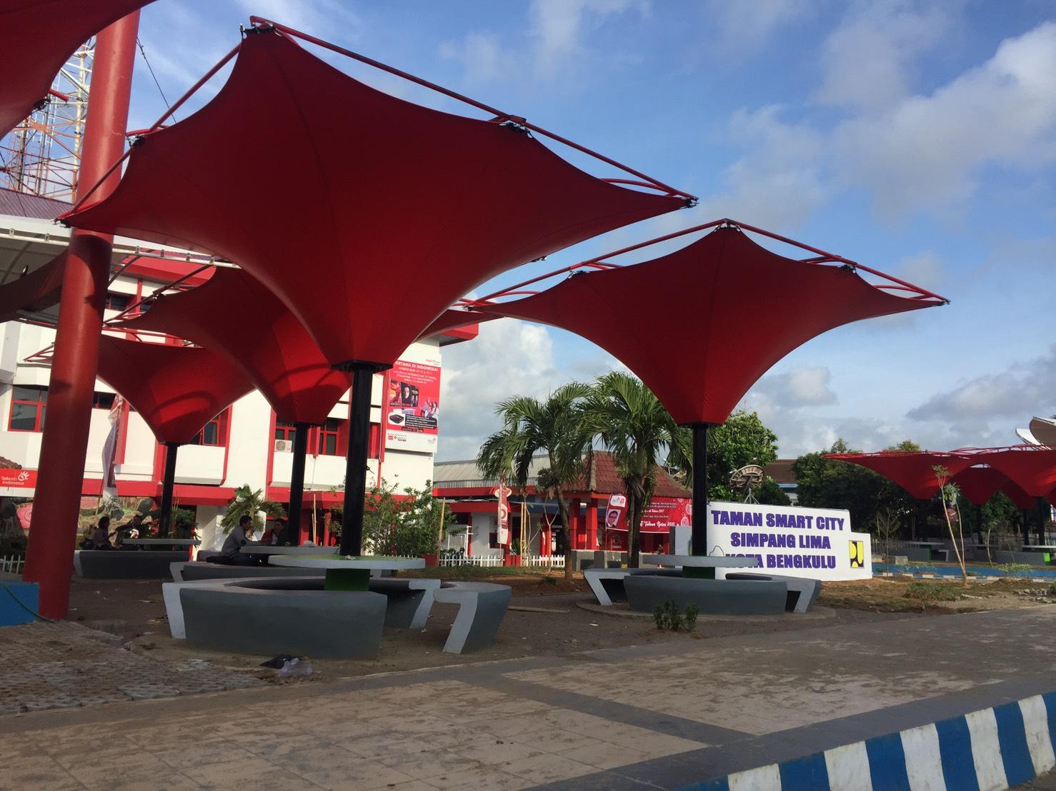Blog Visit Bengkulu Taman Pintar Tugu Pers Kota