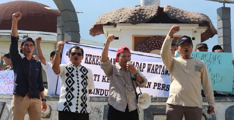 Jurnalis Bengkulu Kecam Oknum Tni Au Aniaya Wartawan Terkini Tugu