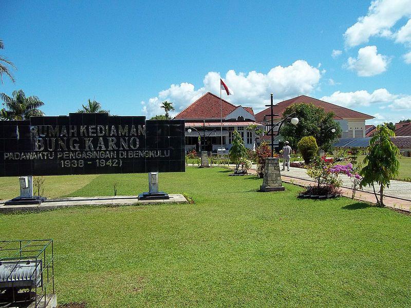 Rumah Kediaman Bung Karno Waktu Pengasingan Pesona Wisata Bengkulu 1938