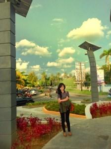 Wisata Bengkulu Tugu Pers Kota