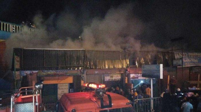3 Hari Sebelum Pasar Atas Terbakar Kebakaran Terjadi Persimpangan Banto