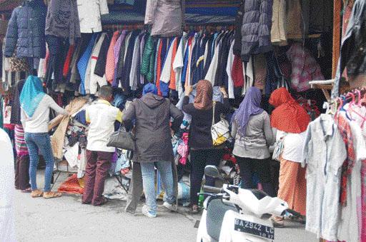 4 Tujuan Wisata Belanja Kota Bukittinggi Pasar Lereng Atas