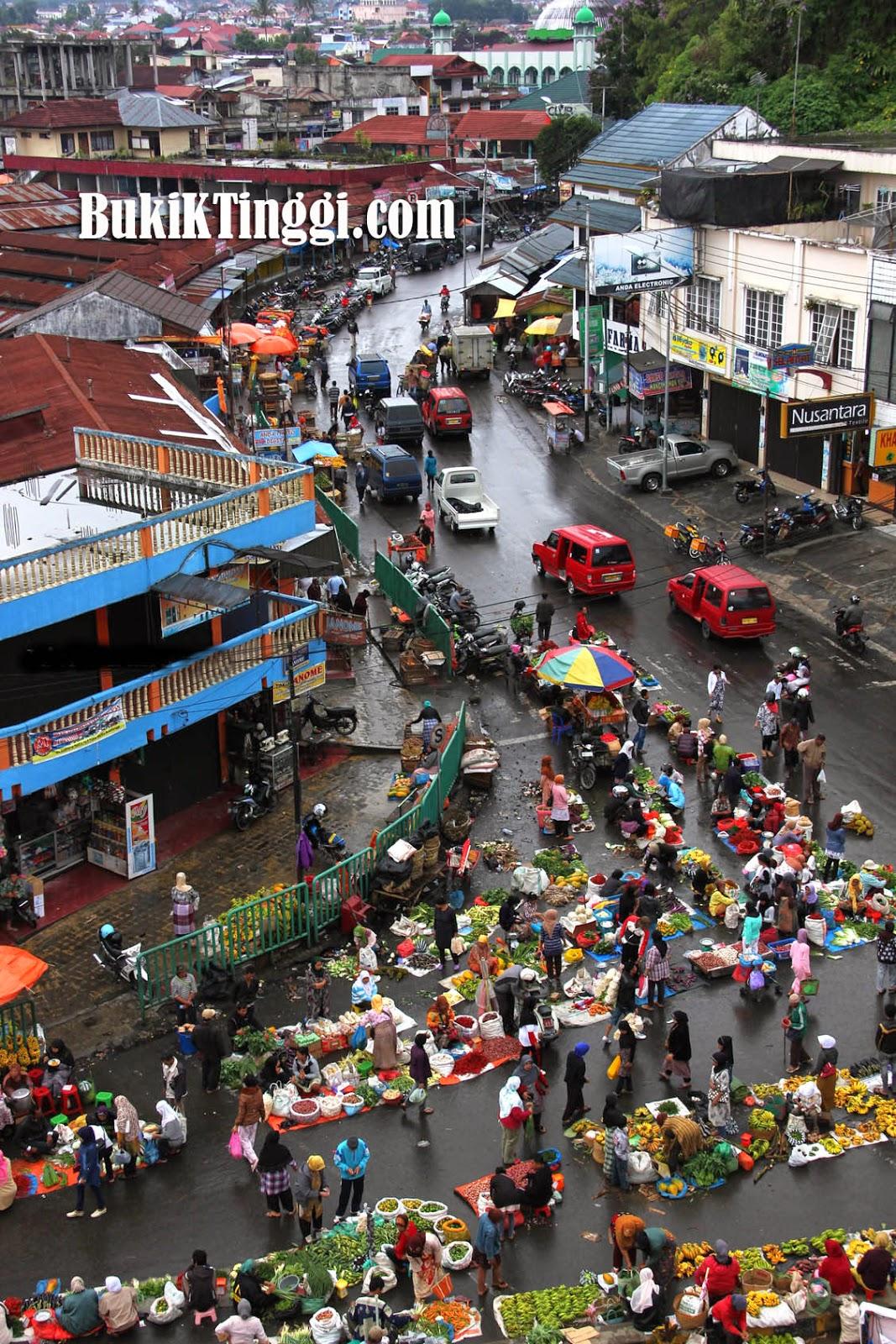 Barito Minang Pasar Bawah Bukittinggi Tradisionil Kebutuhan Sehari Hari Salah