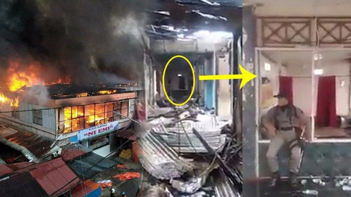 Imbas Kebakaran Pasar Atas Bukittinggi Kios Tak Berbentuk Tapi Musala