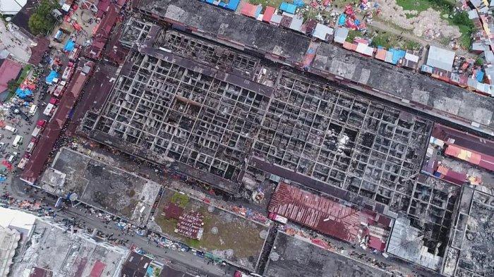 Mushalla Tak Terjamah Api Pasar Atas Bukittinggi Terbakar Pasca Dilihat