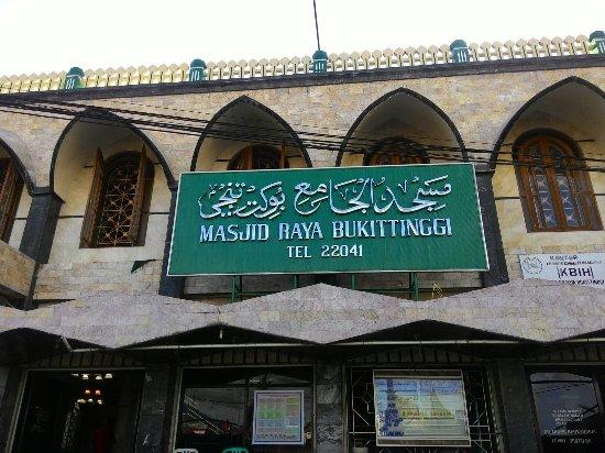 Nice Masjid Review Raya Bukittinggi Pasar Atas Kota