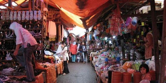 Pasar Atas Satu Kuliner Tidak Lewatkan Berkunjung Bukittinggi Nasi Kapau