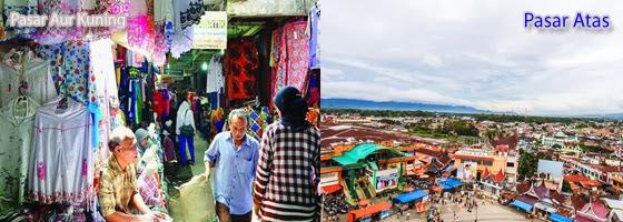 Pasar Wisata Grosir Aur Kuning Bukittinggi Atas Kota