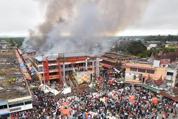 Tampung Korban Kebakaran Pasar Atas Pemkot Bukittinggi Butuh Sumatra Barat