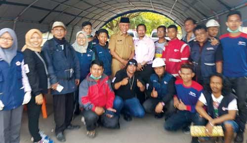 Tinjau Kebakaran Pasar Atas Walikota Padang Mahyeldi Apresiasi Giat Pmi