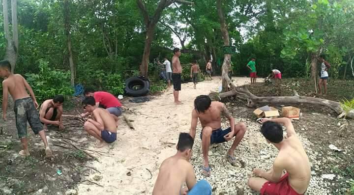 Bersihkan Pulo Merak Kecil Pemuda Jadi Destinasi Wisata Citizen Pantai