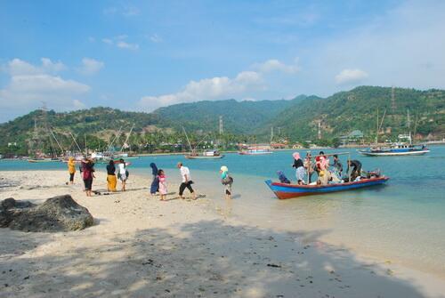 Kecamatan Pulomerak Pulo Pantai Mabak Kota Cilegon