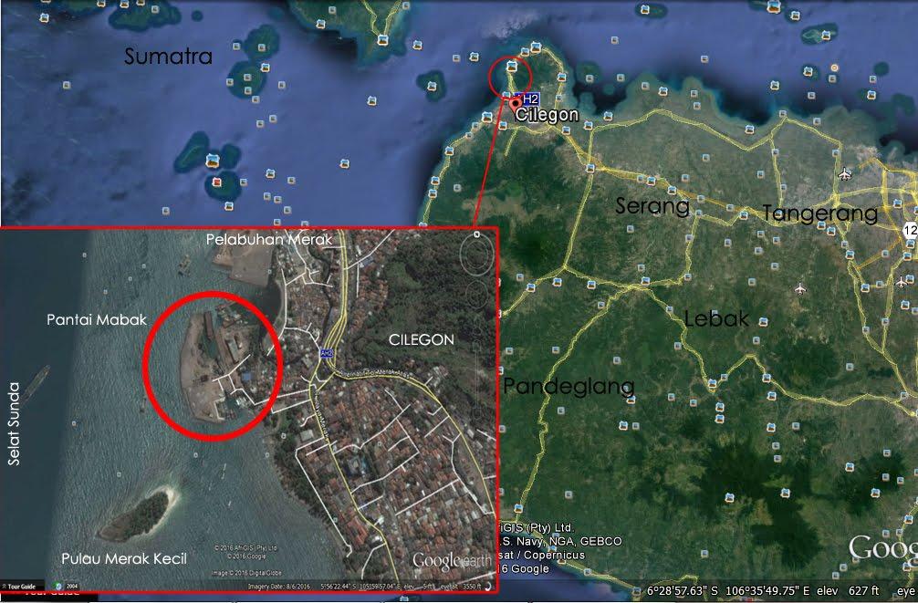 Pantai Mabak Menikmati Laut Sisi Kota Cilegon Travel Peta Lokasi