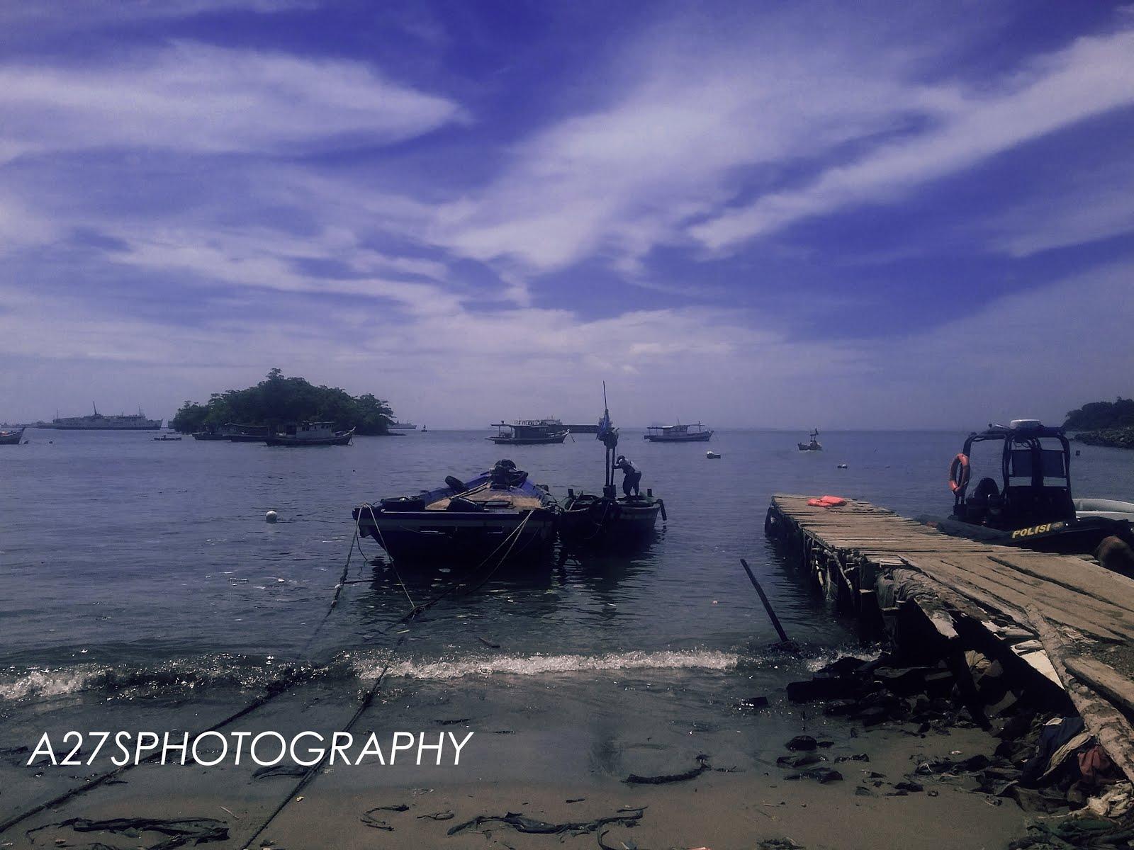 Pantai Mabak Menikmati Laut Sisi Kota Cilegon Travel Pulau Merak