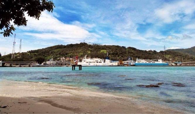 Pesona Pulau Merak Besar Hewan Langka Makam Kramat Hingga Pelayaran