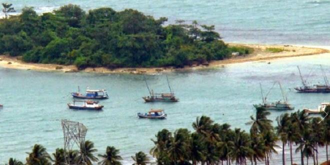 Pesona Pulau Merak Kecil Pantai Mabak Kota Cilegon