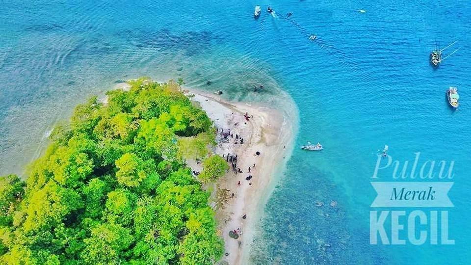Pulau Merak Kecil Ujung Jawa Indah Kaskus Pantai Mabak Kota