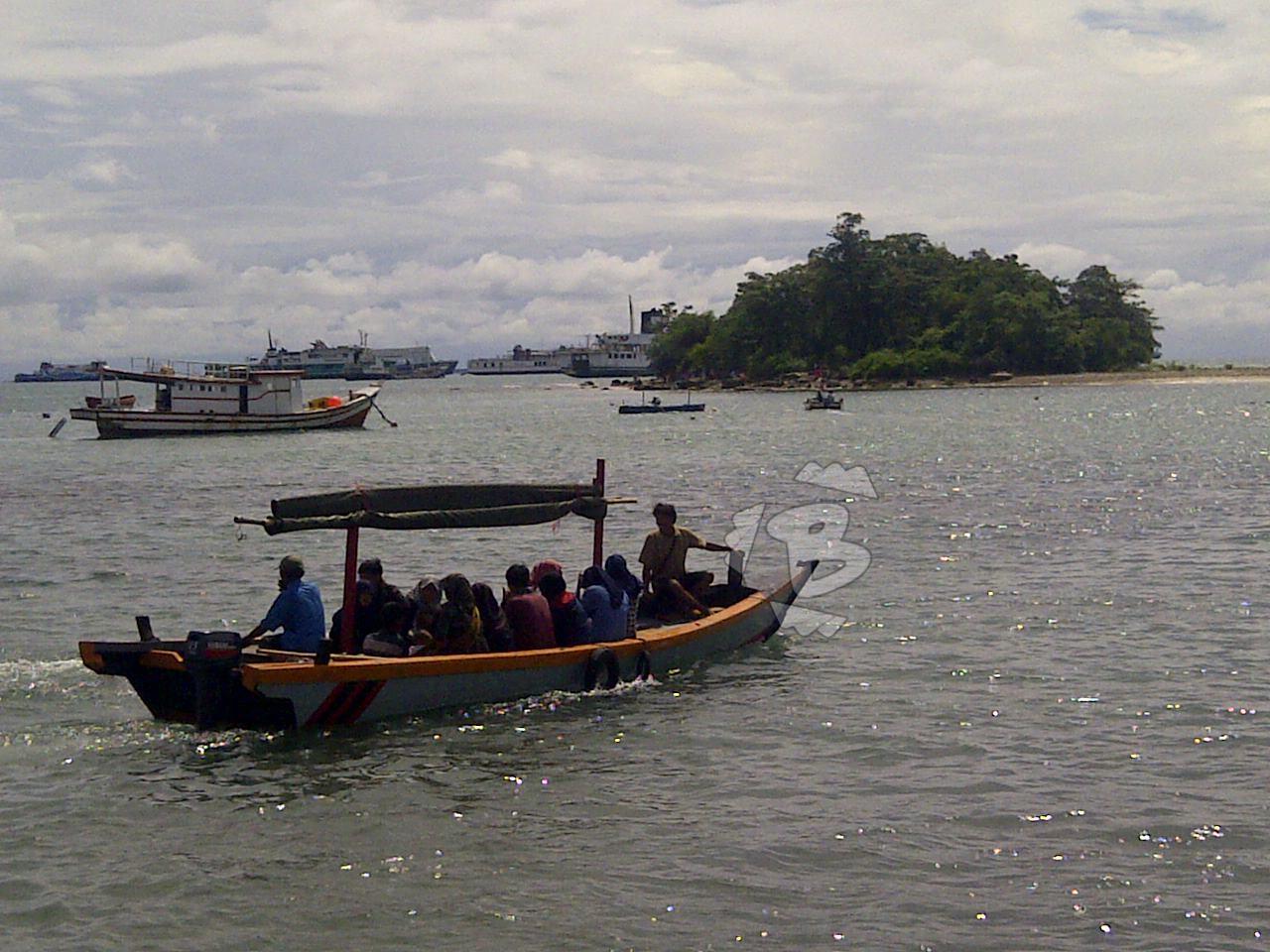 Pulau Merak Kecil Wisata Alternatif Cilegon Bantenhits Pantai Mabak Kota