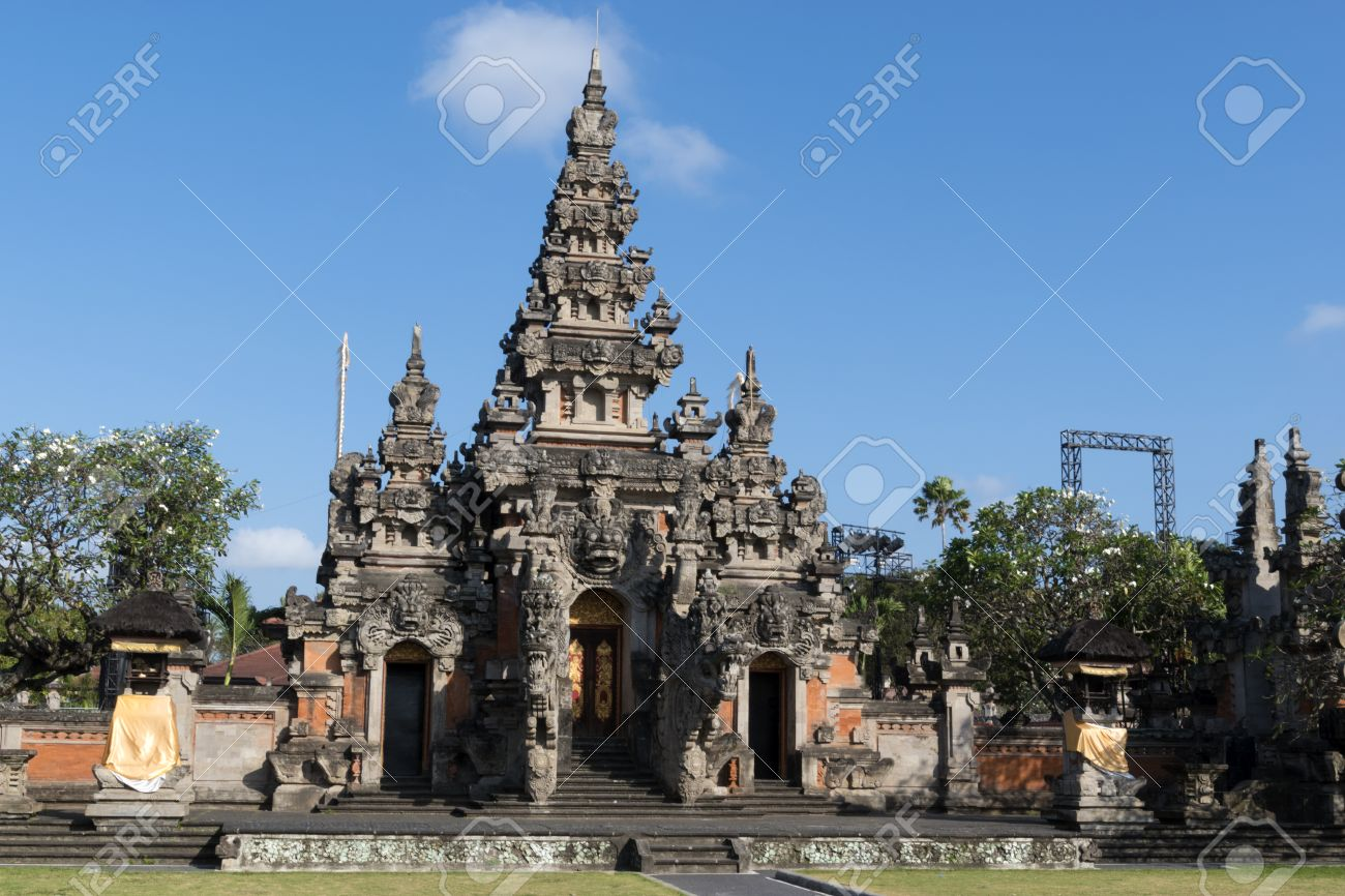 Werdhi Budaya Art Center Denpasar Bali Stock Photo Picture Centre